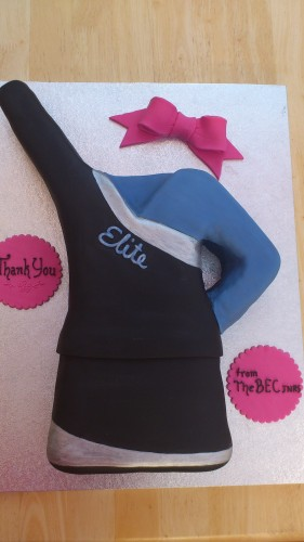 Cheerleaders Outfit Novelty Cake