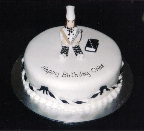 Chef Novelty Birthday Cake