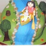 Dora The Explorer Novelty Birthday Cake