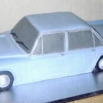 Ford Zodiac Mk 111 Novelty Birthday Cake
