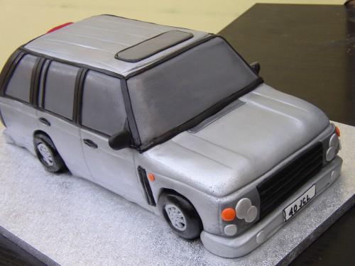 Range Rover Novelty Cake