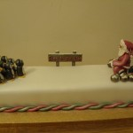 Sants Bowling Novelty Christmas Cake