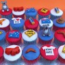 australian themed cup cakes  thumbnail