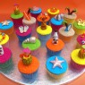 Hawaiian Party Themed Novelty Cupcakes thumbnail