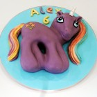 My Little Pony Unicorn Novelty Birthday Cake