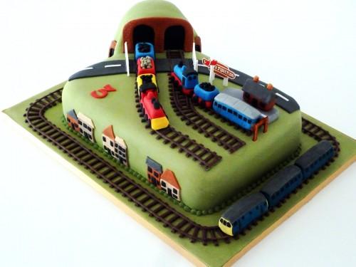 Train Track Steam Diesel Trains Station