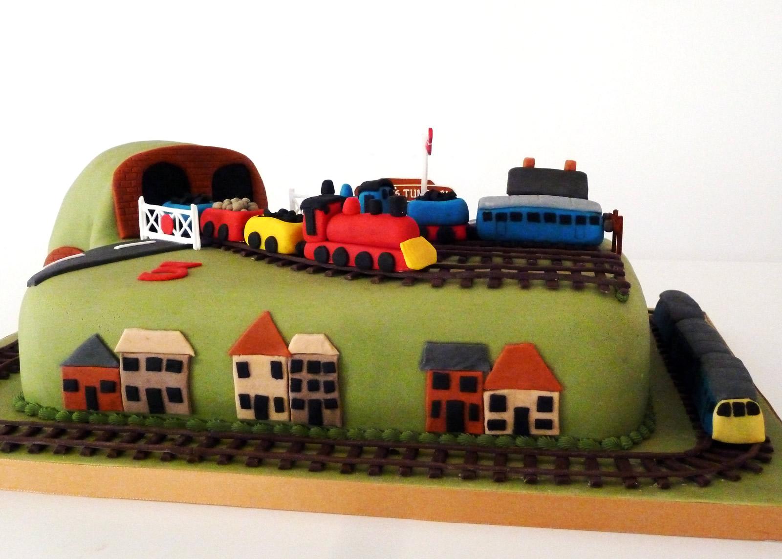 Adult Train Birthday Cake Ideas And Designs