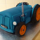 fordson major tractor novelty cake