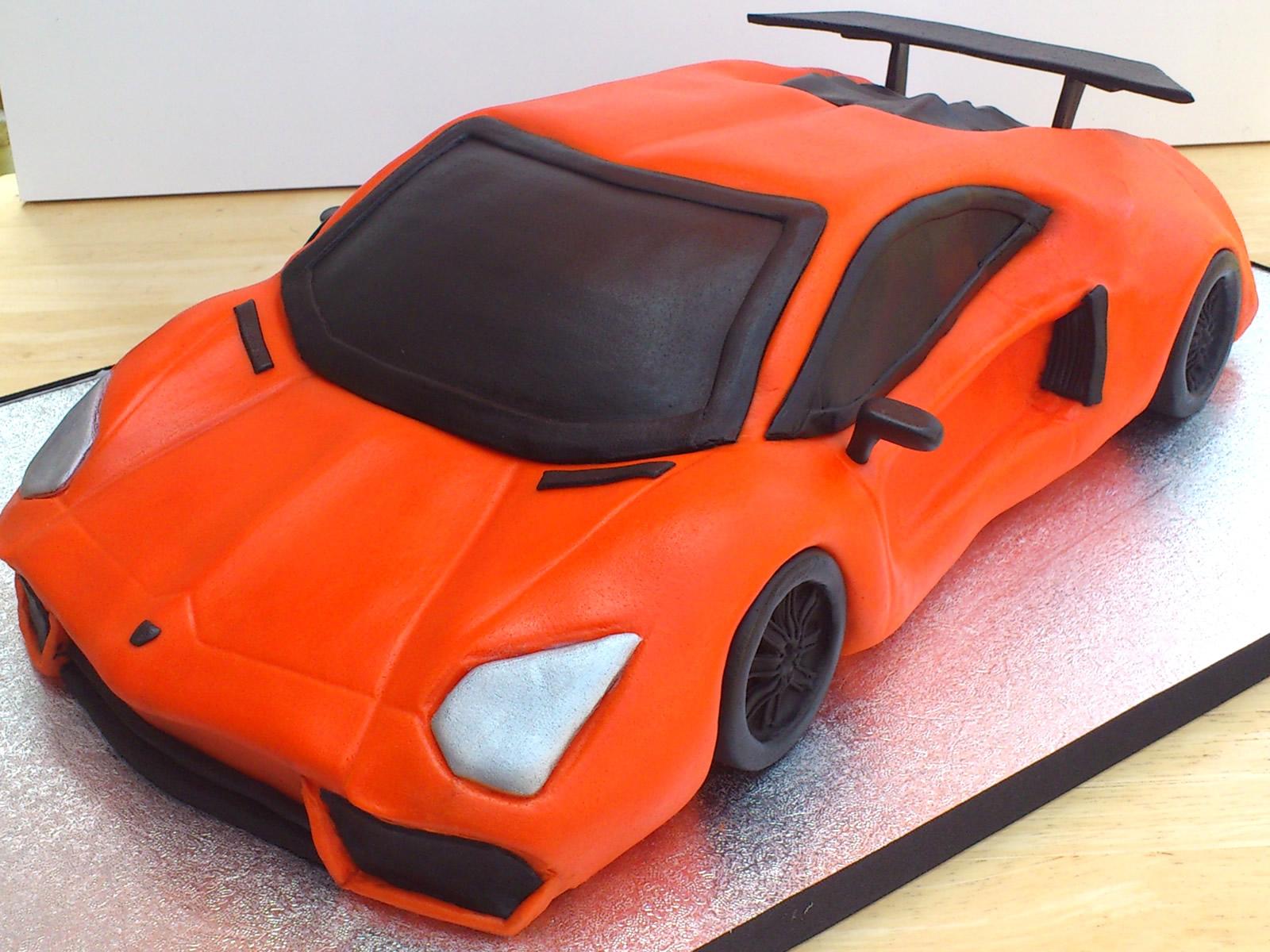 Orange Cake With Orange Icing