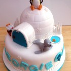 Pingu and Friends Novelty Birthday Cake