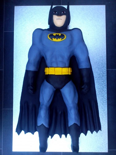 Batman Inspired Novelty Cake