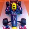 Red Bull F1 Racing Car Novelty Birthday Cake  thumbnail