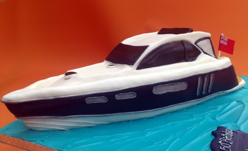 Targa 38 Motor Cruiser Novelty Cake