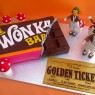 Willy Wonka Chocolate Bar Golden Ticket Oompa Loompas Novelty Cake  thumbnail