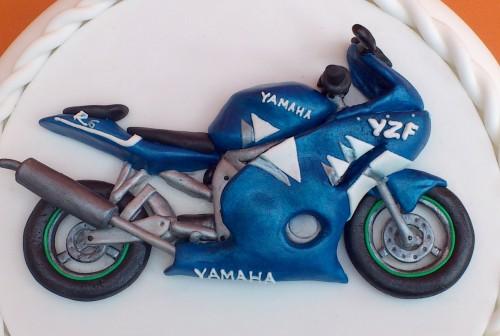 Yamaha R6 Novelty Birthday Cake