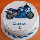 Yamaha R6 Novelty Birthday Cake
