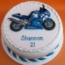 Yamaha R6 Novelty Birthday Cake thumbnail