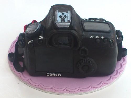 Canon EOS 50D Novelty Cake,Topper