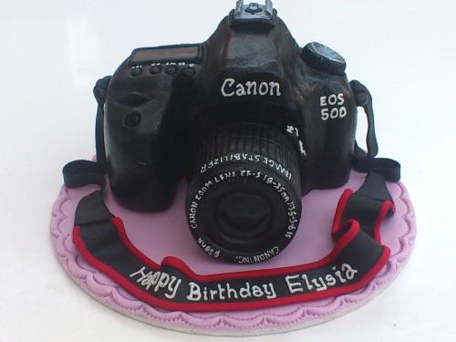Canon EOS 50D Novelty Cake Topper