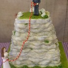 Rock Climbers Novelty 3 Tier Wedding Cake