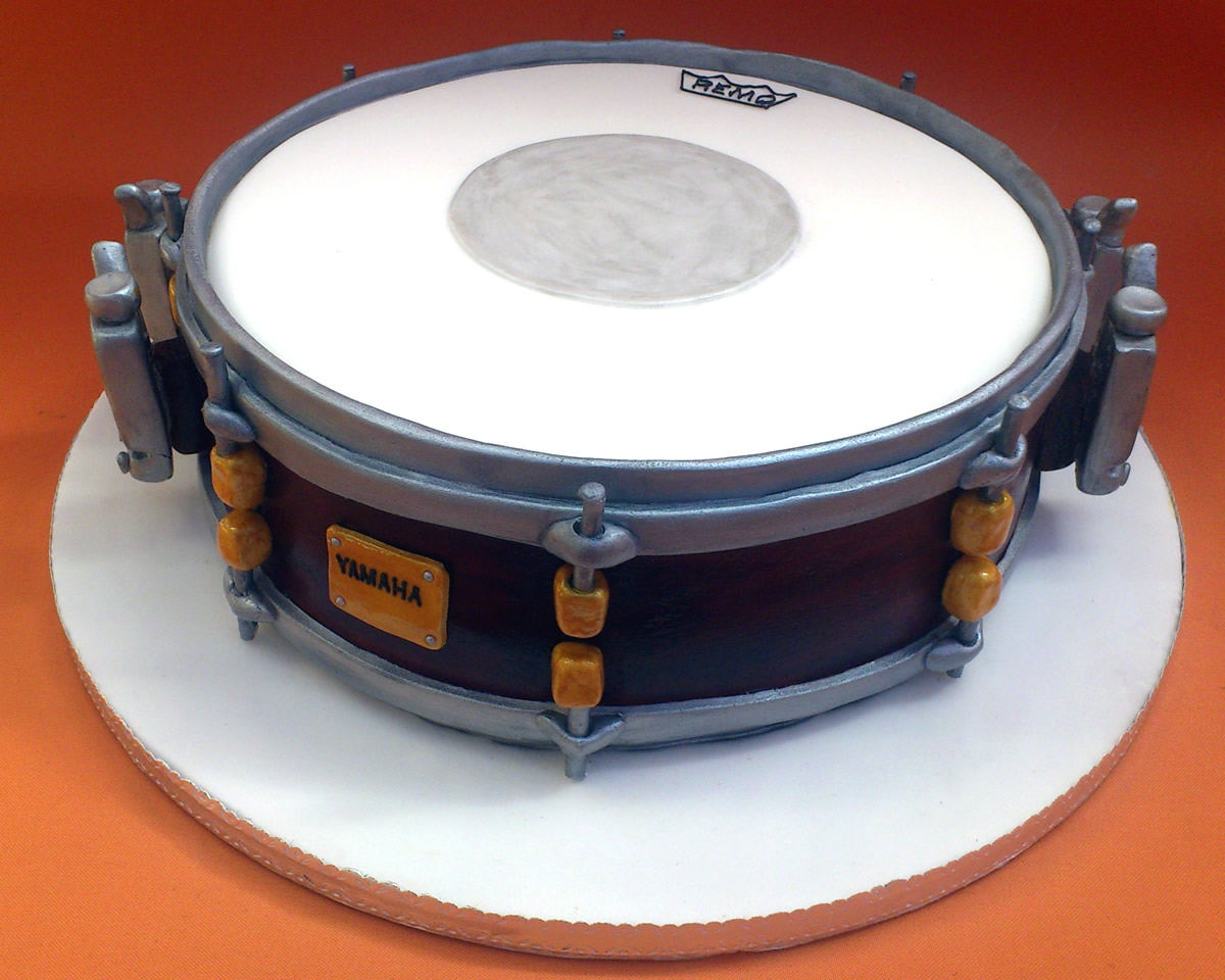 Fantastic Snare Drum Novelty Birthday Cake Susies Cakes Personalised Birthday Cards Paralily Jamesorg