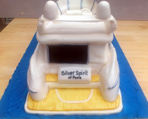Sunseeker 66 Motor Cruiser Novelty Cake
