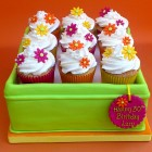 Tin Of Cupcakes Novelty Birthday Cake