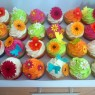 Vibrant and Floral Birthday Cupcakes thumbnail