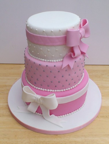 how to stack a three tier fruit wedding cake 3 tier pretty in pink stacked wedding cake 171 susie s cakes 16156