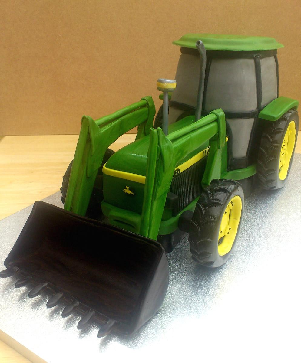 Stupendous John Deere 3050 Tractor Novelty Birthday Cake Susies Cakes Funny Birthday Cards Online Amentibdeldamsfinfo