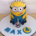 Minion Novelty Birthday Cake