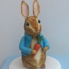 Peter Rabbit Themed Christening Cake
