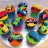 Toy Cars Bikes Bus Lorry Novelty Cupcakes thumbnail
