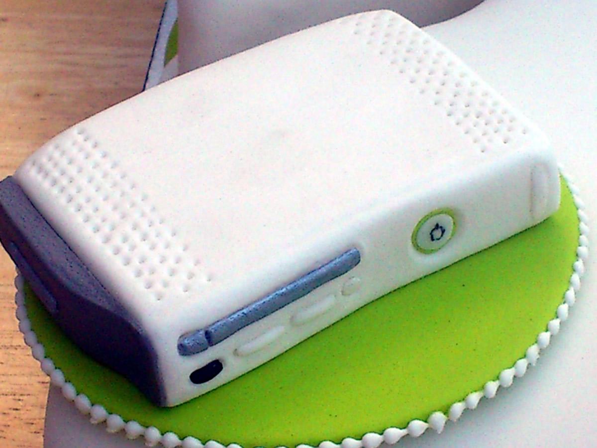 Xbox 360 White Inspired 21st Birthday Cake Susies Cakes
