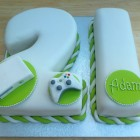 White Xbox 360 Novelty 21st Birthday Cake