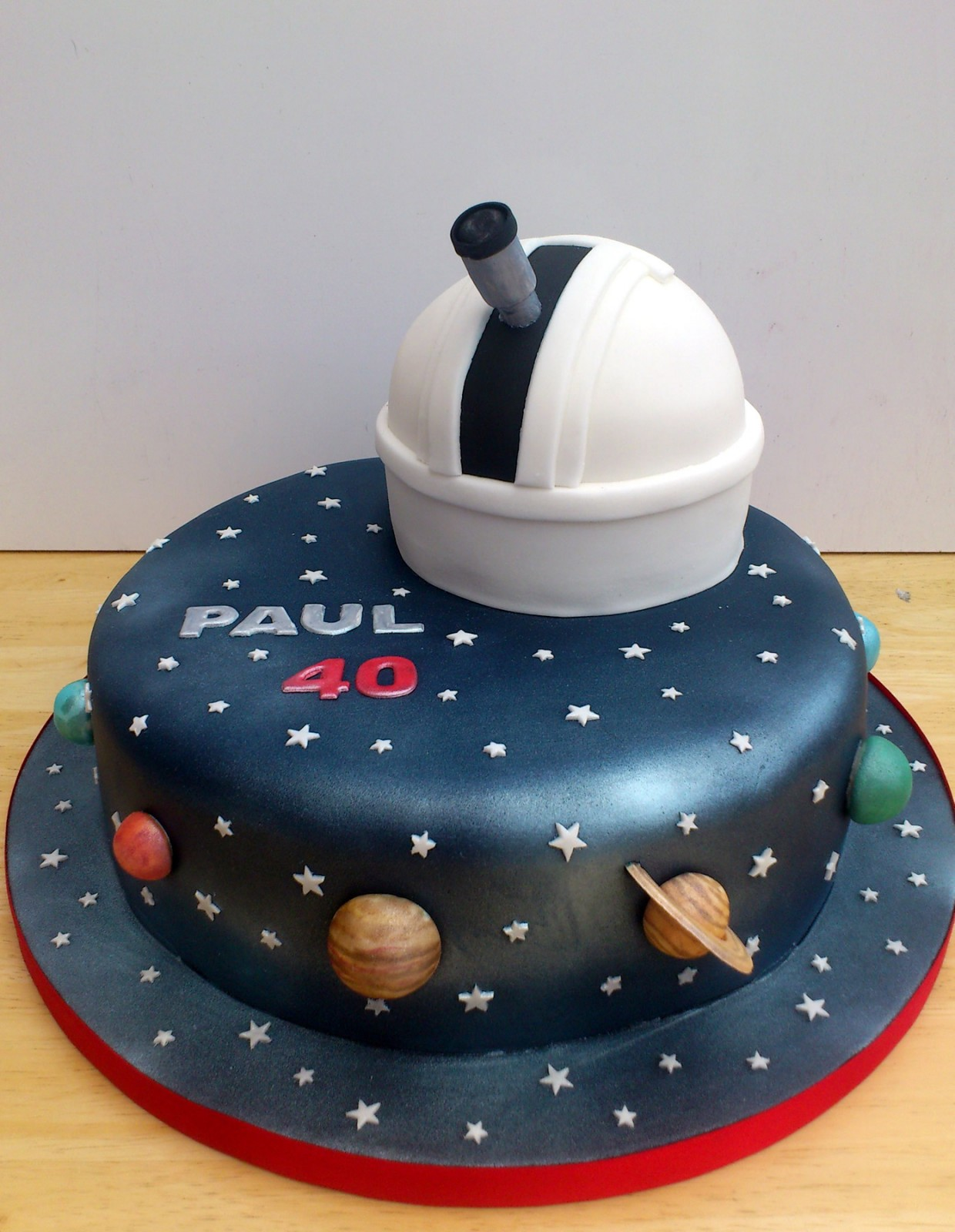 Astronomy Cake Toppers