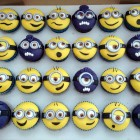 minion themed novelty cupcakes