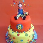 mr tumble inspired novelty 2 tier birthday cake s