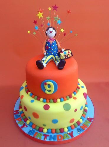 mr tumble inspired novelty 2 tier birthday cake s