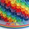 my little pony rainbow frill 2 tier rainbow sponge birthday cake sponge poole dorset detail thumbnail