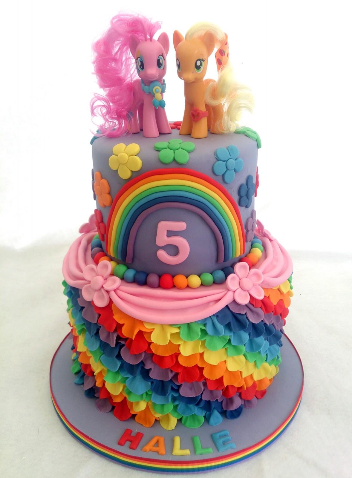 My Little Pony Home Decor My Little Pony Rainbow Cake 171 Susie S Cakes