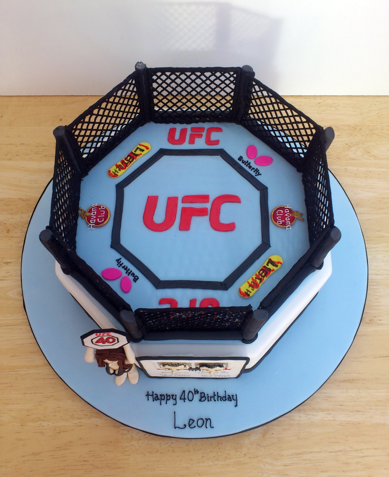 UFC Themed Novelty Birthday Cake « Susie's Cakes
