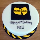 wu-tang novelty birthday cake
