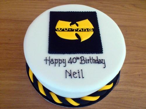 wu-tang novelty birthday cake