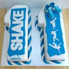 shake street dance themed novelty birthday cake