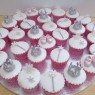 snow fairy princess novelty christening birthday cake  thumbnail
