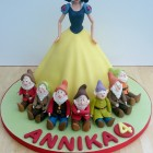 snow white and the seven dwarfs novelty birthday cake