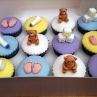 baby shower boy novelty cupcakes