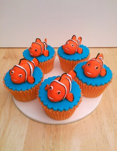 finding nemo novelty cupcakes