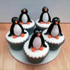penguin novelty cupcakes